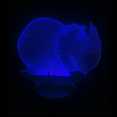 Rhino LED Night Light/Lamp