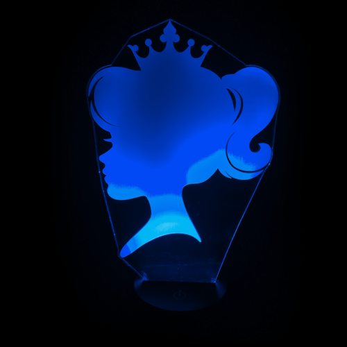 Sweet Princess LED Night Light/Lamp