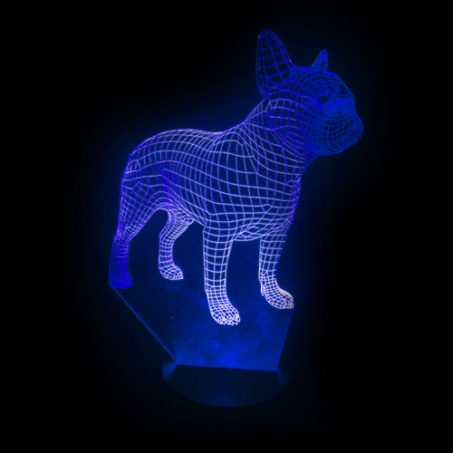French Bulldog LED Night Light/Lamp