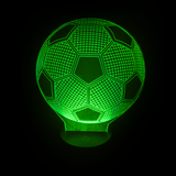 Soccer Ball LED Night Light/Lamp