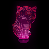 Cat Kitten LED Night Light/Lamp