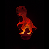 T-Rex Dinosaur LED Night Light/Lamp