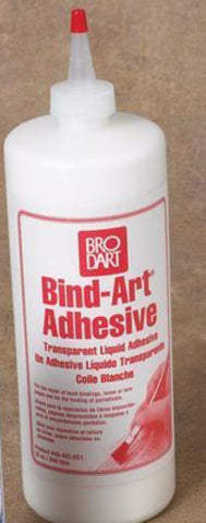 Brodart Acid Free Bind-Art Adhesive - 12 ounces - Manaus Books site