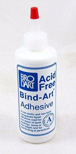 Brodart Acid Free Bind-Art Adhesive - 4 ounces - Manaus Books site