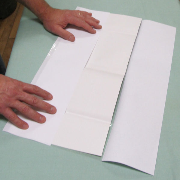 "Fold-On Archival Pre-Cut Sheets 9 1/2"" x 20"" - Manaus Books site"