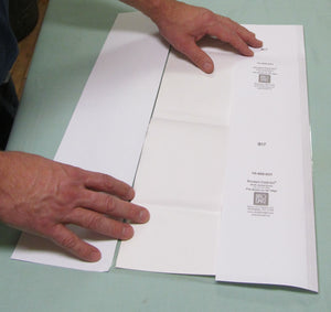 "Fold-On Lo-Luster Pre-Cut Sheets 16"" x 30"" - Manaus Books site"
