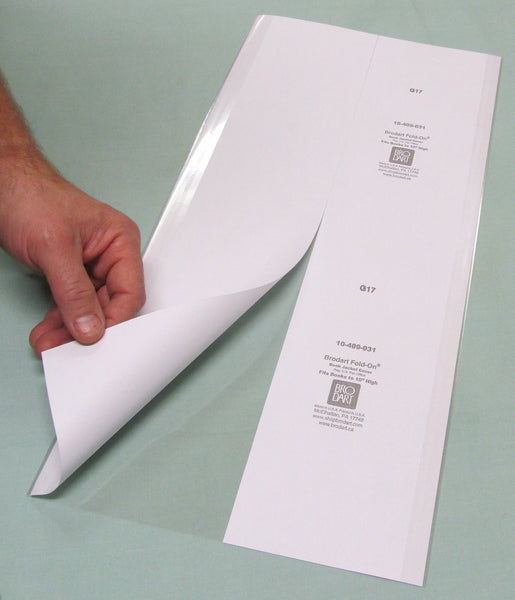 "Fold-On Lo-Luster Pre-Cut Sheets 8 1/2"" x 18 1/2"" - Manaus Books site"
