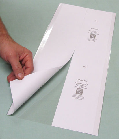 "Fold-On Lo-Luster Pre-Cut Sheets 12"" x 36"" - Manaus Books site"