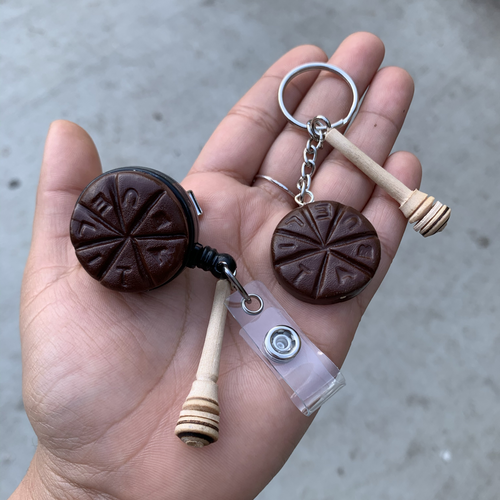 Chocolate Abuelita Badge Reel