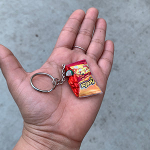 Hot Cheetos Badge Reel
