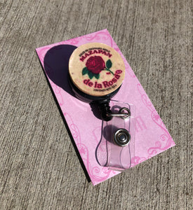 Mazapan Badge Reel