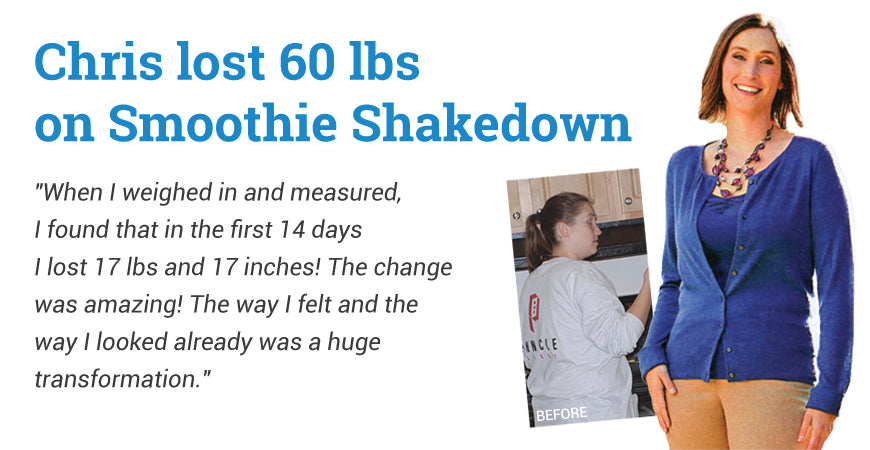 Chris P. Lost 60 lbs. - Smoothie Shakedown
