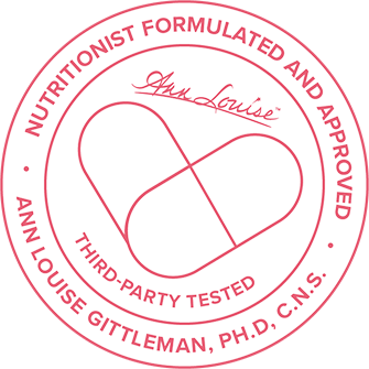 nutritionist formulated and approved, third party tested, ann louise gittleman