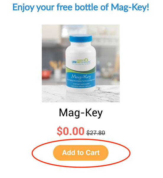add mag-key to cart