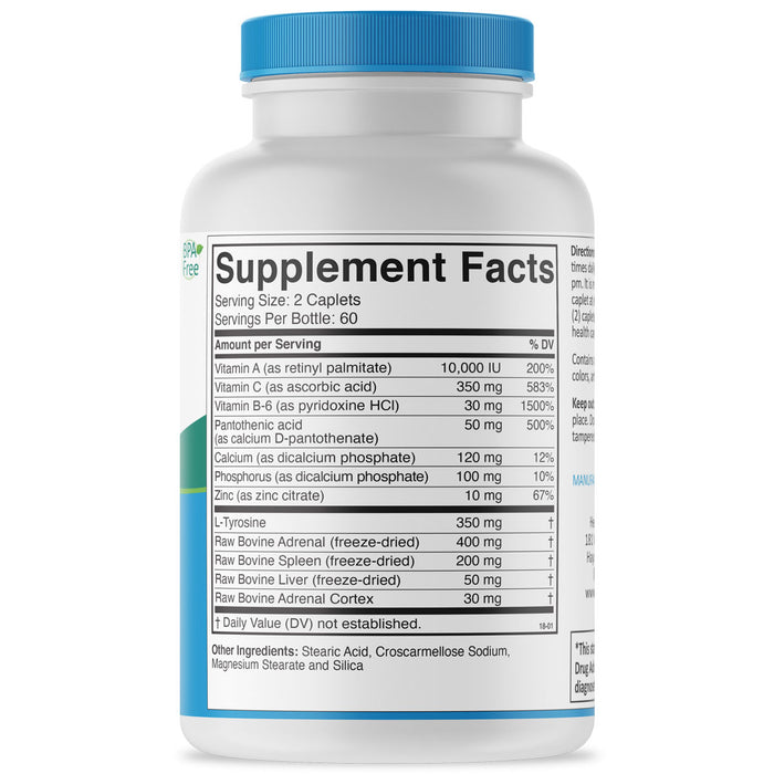 Adrenal Formula Supplement Facts