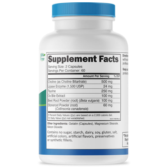 Bile Builder Supplement Facts