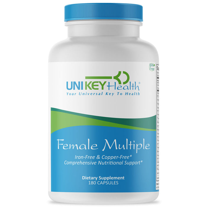 Female Multiple - Multivitamin for Women, Iron-Free & Copper Free