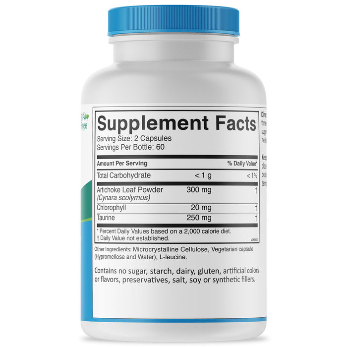 Liver-Lovin Formula supplement facts