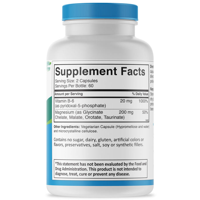 Mag-Key Magnesium supplement facts