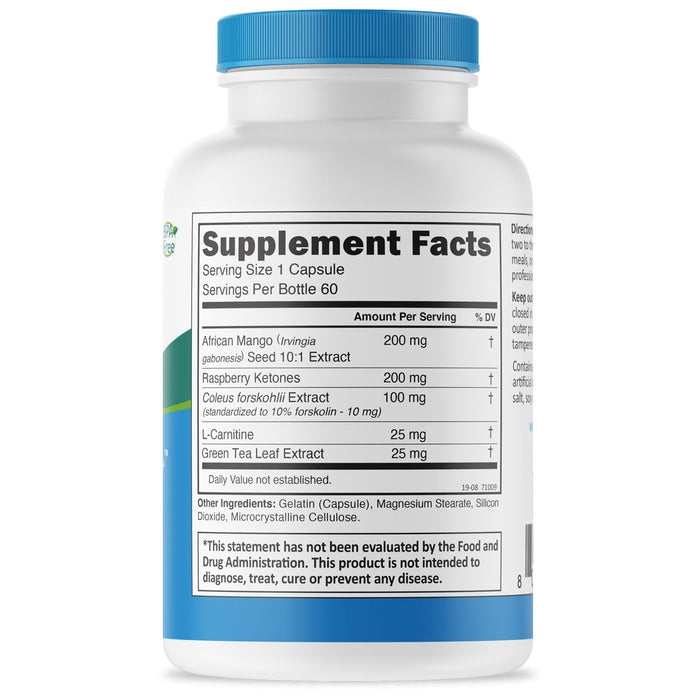 Radical Metabolizer Supplement Facts