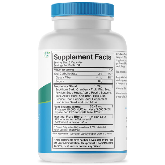 Super-GI Cleanse Supplement Facts
