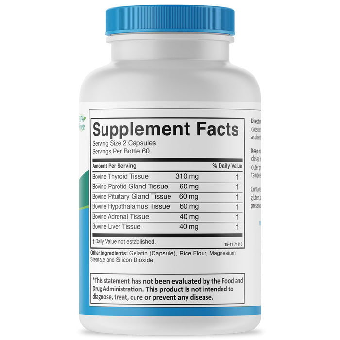 Thyro-Key Supplement Facts