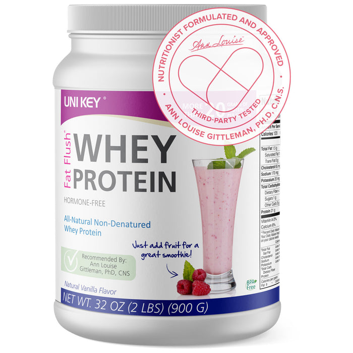 Fat Flush Whey Protein - Vanilla UNI KEY health
