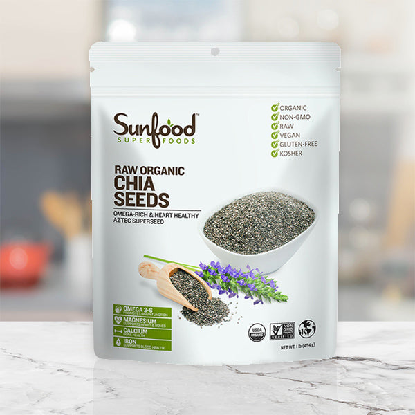 Raw Organic Chia Seeds - UNI KEY Health