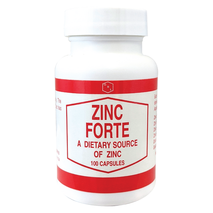 Zinc Forte bottle - A dietary source of zinc