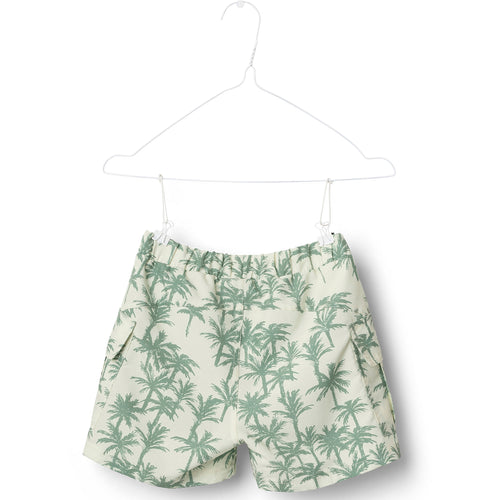 Mateo Palm Surf Shorts- Yellow Pear Sorbet