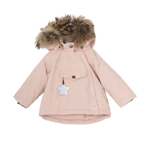 Wang Dots Winter/Ski Jacket -Rose Smoke