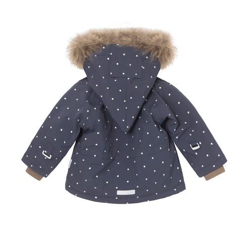 Wang Dots Winter/Ski Jacket- Blue Nights