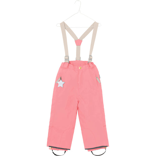 Witte Winter Ski Pants - Geranium Pink