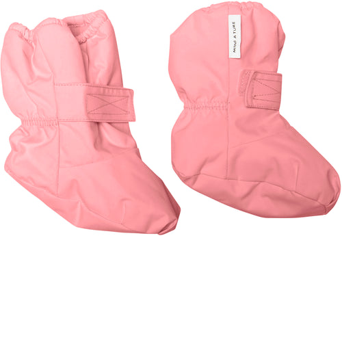Winn Outdoor Booties- Geranium Pink