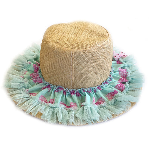 Sweet Bow Straw Sun Hat