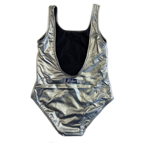 Girls Metallic Swimsuit