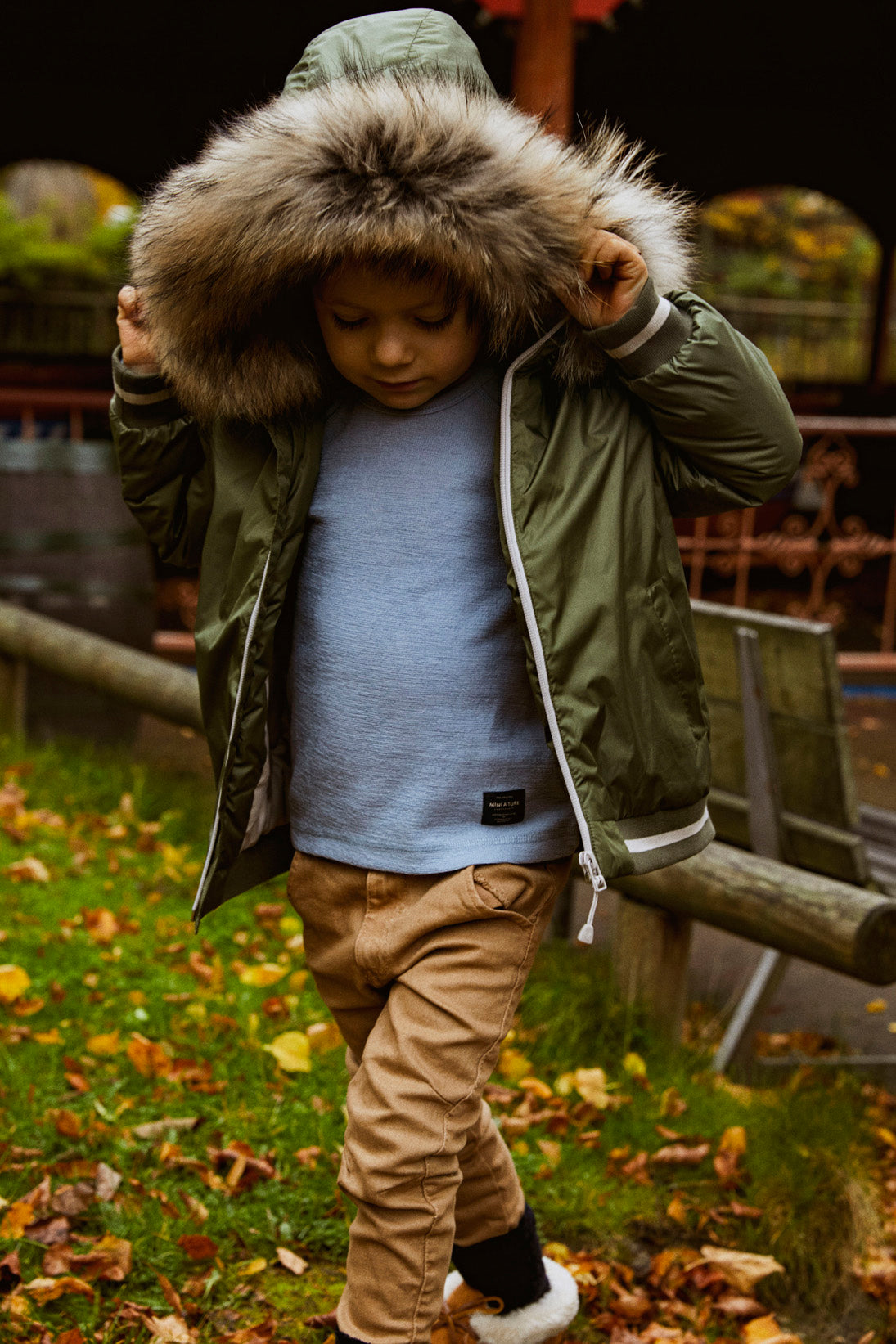 Joost Winter Jacket- Clover Green
