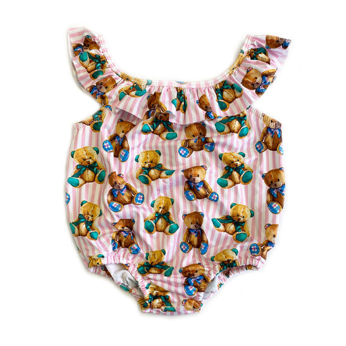 Baby Girls Teddy Swimsuit