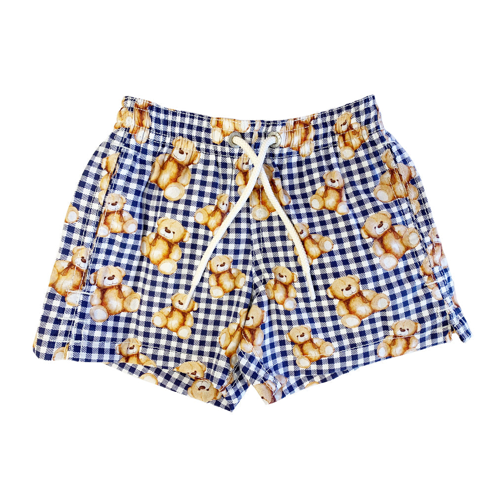 Baby Boy Teddy Bear Swim Shorts