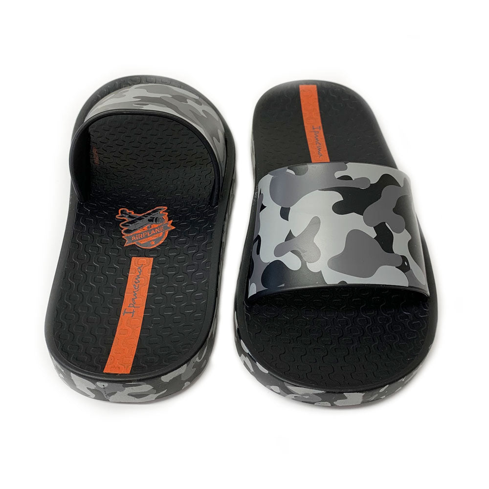 Black Camo Urban Beach Slide