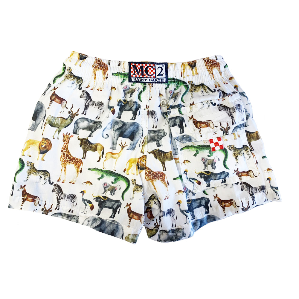 Baby Boy Animal Swim Shorts