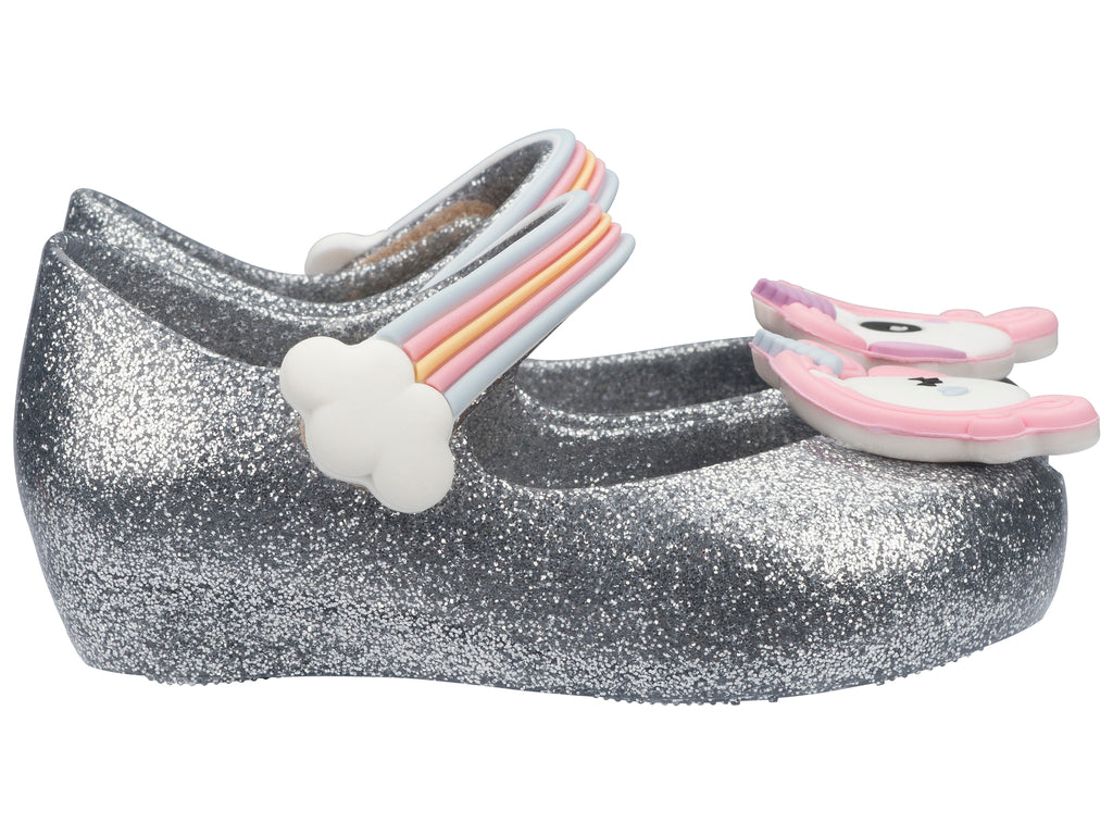 Mini Ultragirl Unicorn Silver Glitter
