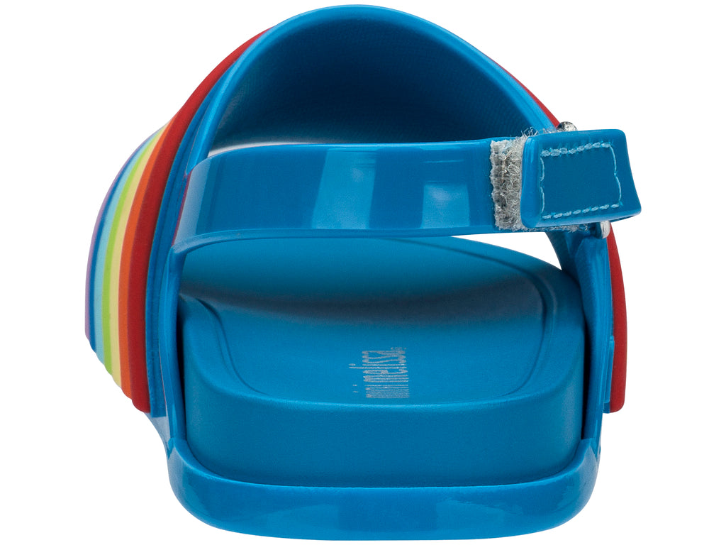 Blue Rainbow Beach Slide Sandal