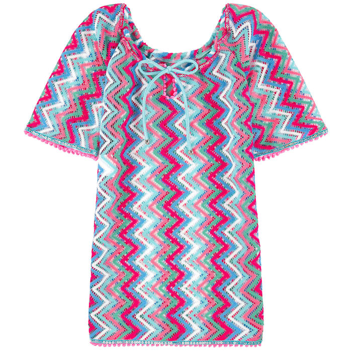 Zig Zag Crochet Dress