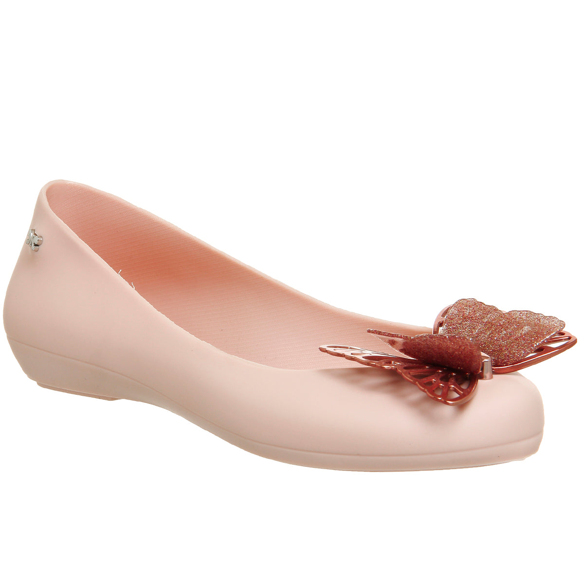 Kids Butterfly Luxe Candy Scented Jellie Sandal- Blush
