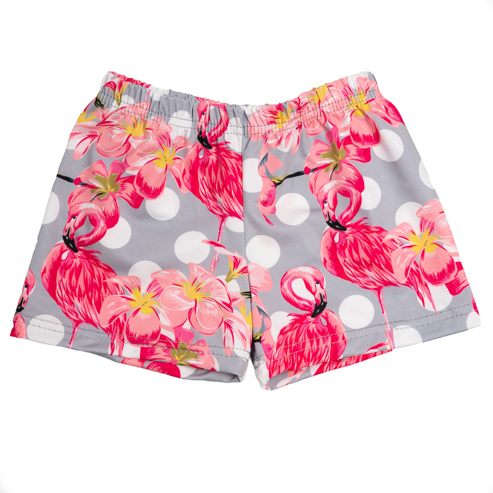 Flamingo Lycra Swim Shorts