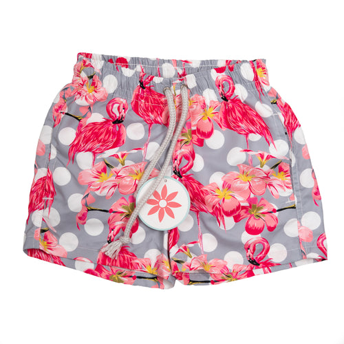 Flamingo Surf Shorts