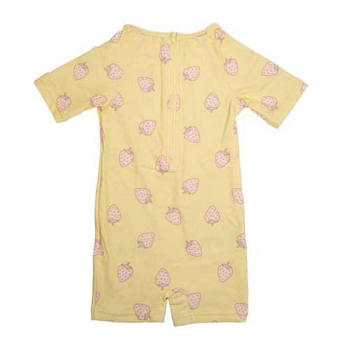 UV50 Protective Goldie Pale Banana Sunsuit