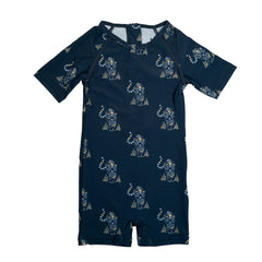 UV50 Protective Goldie Blue Nights Tiger Sunsuit