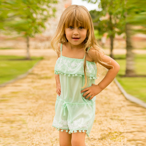 Baby Eisha Mint Playsuit